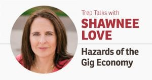 Trep Talks with Shawnee Love - Hazards of the Gig Economy @ COLAB WEST ROOM | Kelowna | British Columbia | Canada