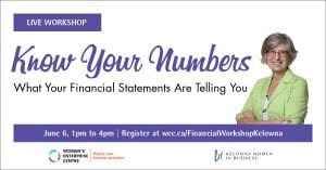 Know Your Numbers: What Your Financial Statements Are Telling You @ coLab Affinity Hall | Kelowna | British Columbia | Canada