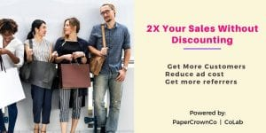 Learn How To 2X Sales Without Discounting @ coLab - Affinity Hall | Kelowna | British Columbia | Canada