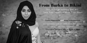 From Burka to Bikini @ Okanagan coLab | Kelowna | British Columbia | Canada