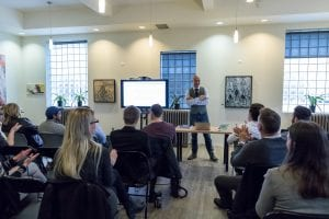 Kelowna coLab Coworking Hot Seat Event